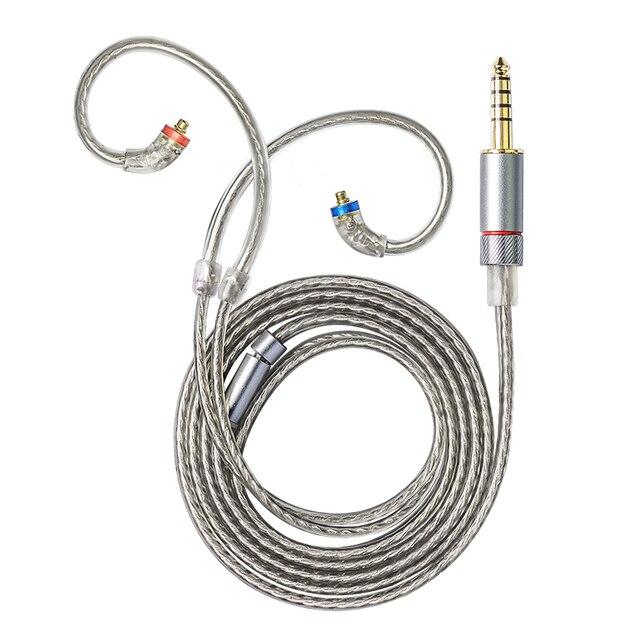 FiiO LC-2.5B/3.5B/4.4B MMCX Balanced earphone replacement cable for Shure/JVC/FiiO