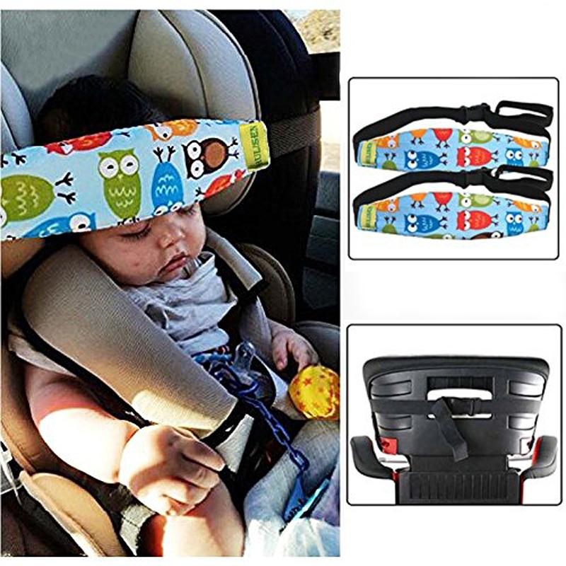 Kids Sleep Aid Belt Head Fasten Strap Support Car Seat Nap Child Baby Travel