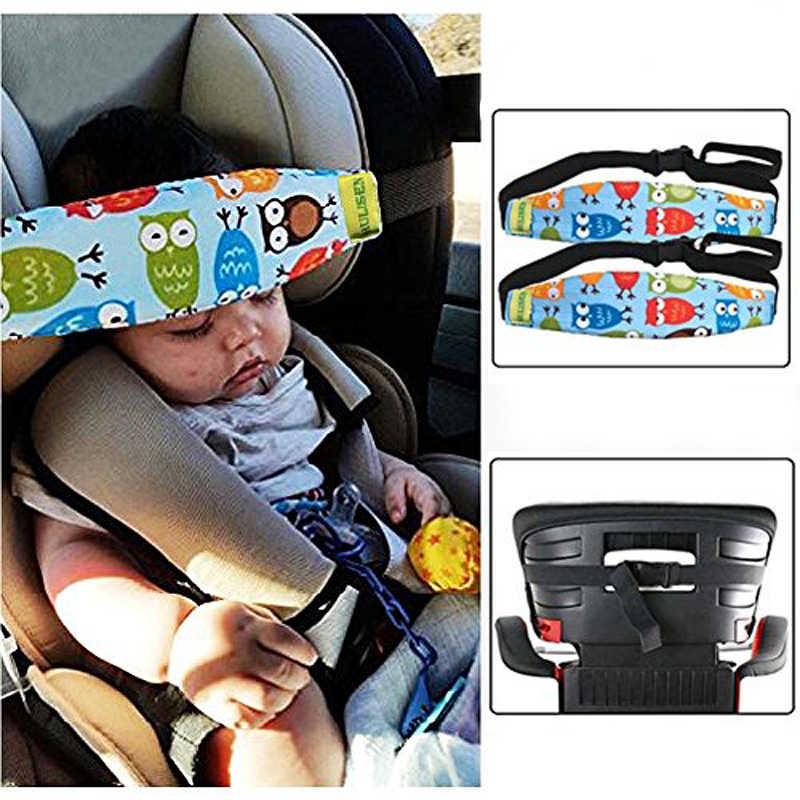Zuigelingen Baby Peuter Hoofd Ondersteuning voor Autogordel Band Autostoel Bandjes Covers Kinderen Slumber Sling Veiligheid Slaap Houder