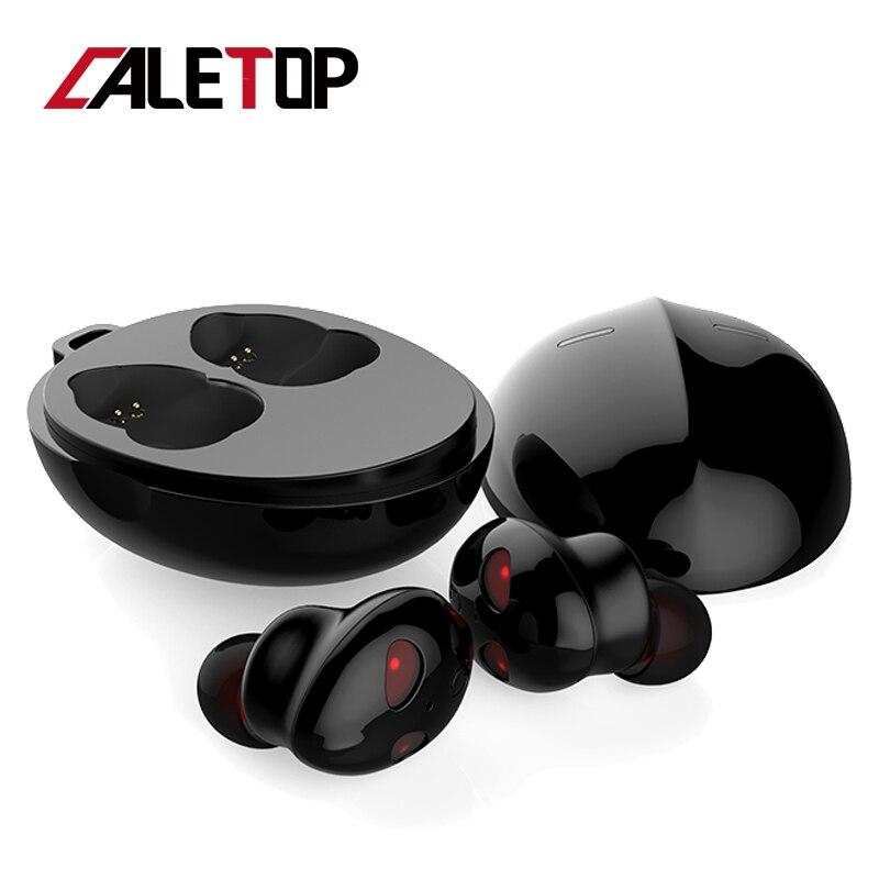Écouteurs sans fil CALETOP écouteurs Bluetooth 5.0 écouteurs antibruit dans l'oreille casque HiFi stéréo écouteurs en forme d'alien