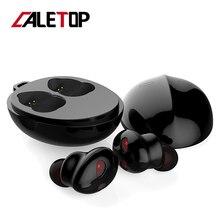 CALETOP Wireless Earpods Bluetooth Headphones 5.0 Earbuds Noise Canceling