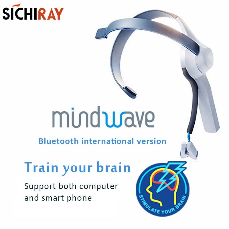 Mindwave Móvel Fone de Ouvido Bluetooth Controlador de Dispositivos Neuro Feedback EEG Eletrodo Seco Atenção e Meditação para Arduino