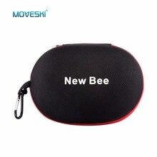 Moveski NB-13 Portátil Caso Caixa de Armazenamento De fone de Ouvido Fone De Ouvido Fone De Ouvido Acessório Earbuts Saco para Fone De Ouvido Sem Fio Com Fio-tamanho grande