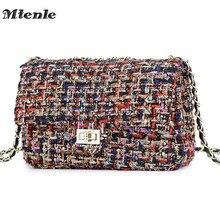c1a74c4fd561c MTENLE Gitter Wolle Frauen Crossbody Tasche Luxus Handtaschen Designer  Marke Damen Taschen Retro Schulter Messenger Bags Weiblic.