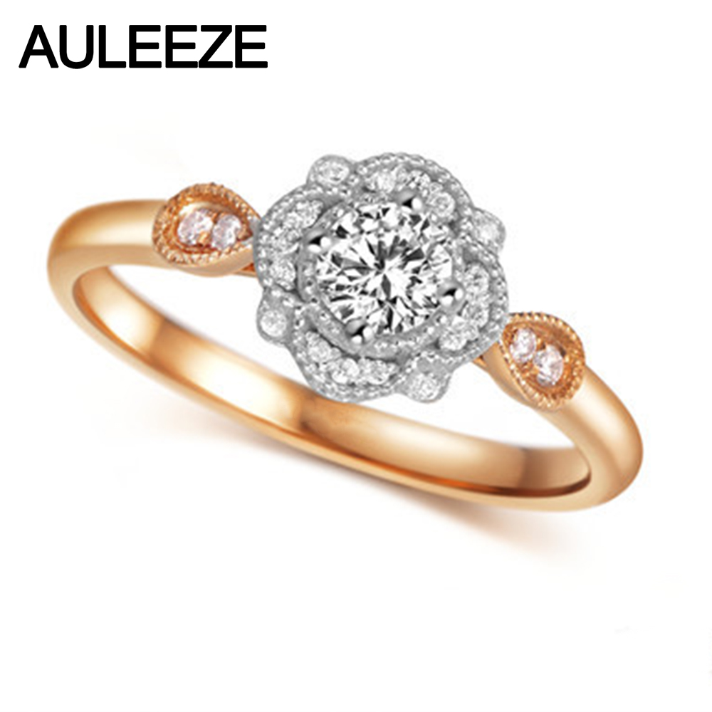Jewelry & Watches Rare 0.69 Ct Moissanite Engagement Wedding Ring 925 Sterling Silver Fine Jewelry