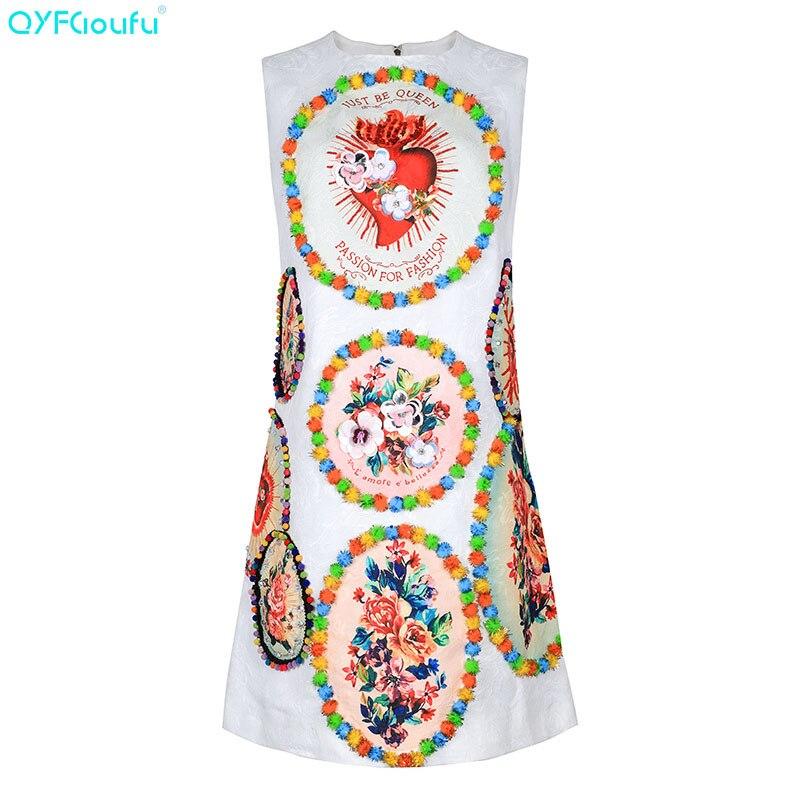 419538dd9e0 Sans 2019 Chemise Court Robe Tenue Imprimé Qyfcioufu Applique Manches Fête  Piste D été Blanc Mode De Floral Femmes ...