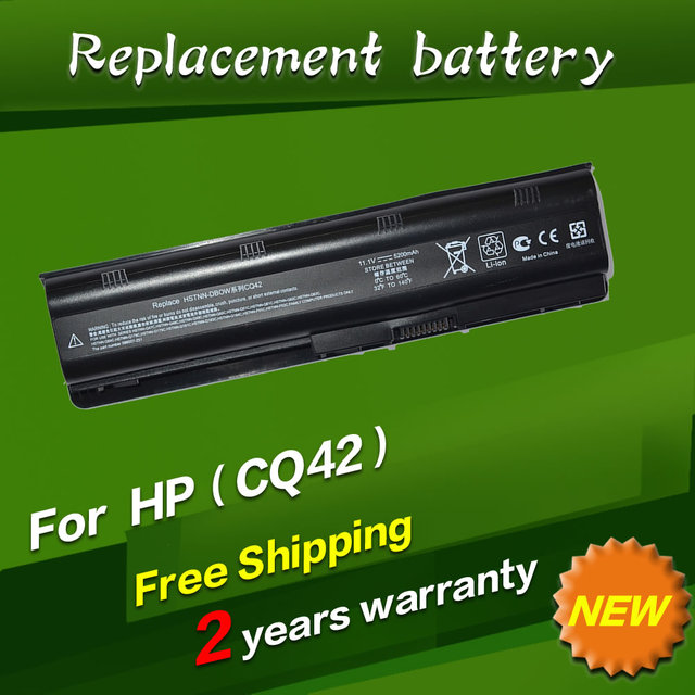 JIGU Laptop battery for HP Compaq Notebook Battery MU06 593553-001 593554-001 593554-001 Free shipping