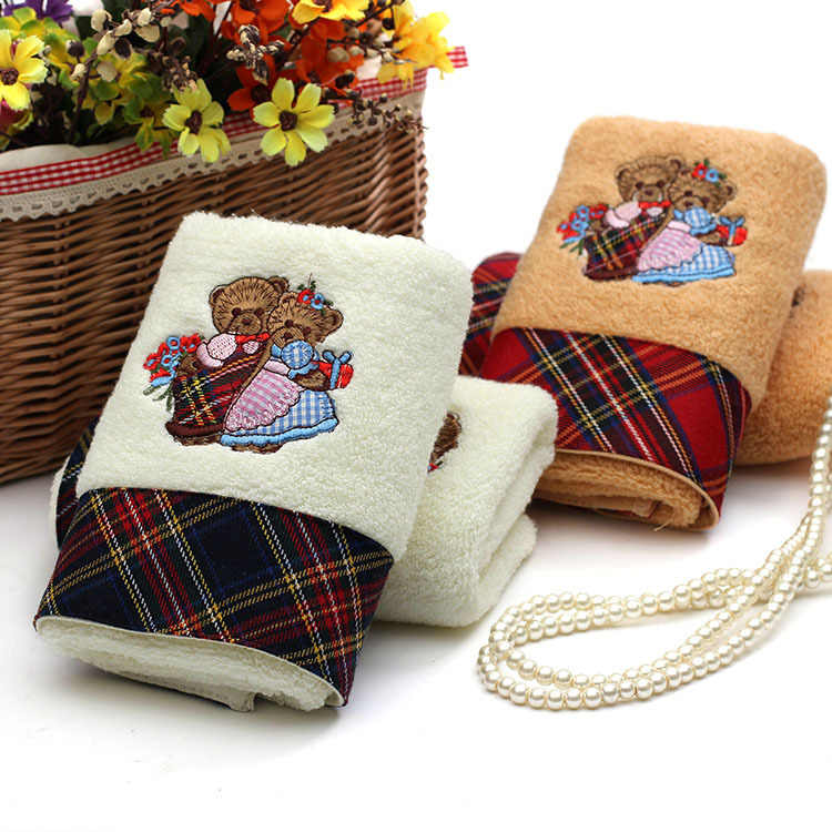 New Face hand Towel High quality 35cm*75cm 100% Cotton Wash Cloth Towel Hot sale Wholesale