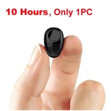 NVAHVA Mini Bluetooth Earphone 10 Hrs Working, Bluetooth Headset Wireless Earbud Earphone Hands-free For Car Driving Phone Sport