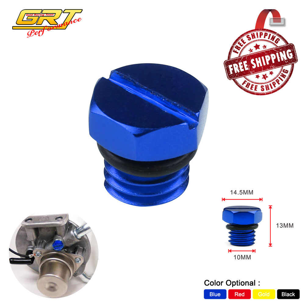 free shipping billet air bleeder screw fuel filter housing 2001 2016 for gmc duramax diesel [ 1000 x 1000 Pixel ]