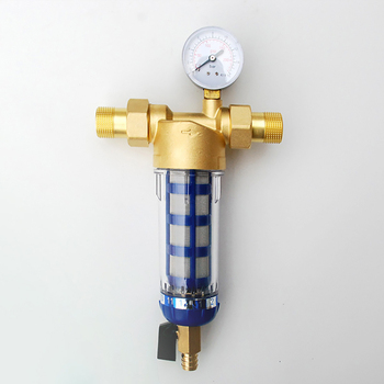 1/2 дюйма 3/4 дюйма 1 дюйма медный обратный фильтр для воды домашний фильтр для воды Трубы Центральный очиститель воды для удаления накипи