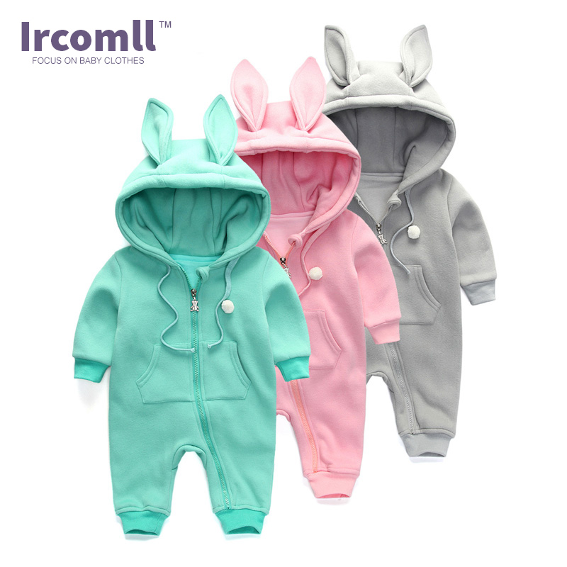 New 2018 Spring Baby Body Infant Rompers Soft Cotton  Hooded Baby Girl Jump Outfits Clothing For Newborn newborn baby rompers baby clothing 100% cotton infant jumpsuit ropa bebe long sleeve girl boys rompers costumes baby romper