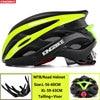 Kingbike capacete de bicicleta ultraleve, capacete de ciclismo para montanha, estrada, mtb, capacetes de luz traseira para homens e mulheres, esportes ao ar livre 25