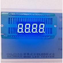 0.36 אינץ 4 ספרות 7 קטע כחול תצוגת led 3461AB/3461BB