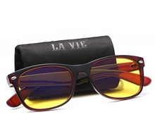 LA VIE High quality 2016 Anti Blue Rays Computer Goggles Reading Glasses 100% Radiation-resistant Gaming UV400