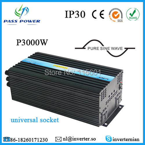 One year warranty, CE, RoHs,SGS certifiactons, Single Phrase Off Grid, Solar Power Inverter 12V 220V 3000WOne year warranty, CE, RoHs,SGS certifiactons, Single Phrase Off Grid, Solar Power Inverter 12V 220V 3000W