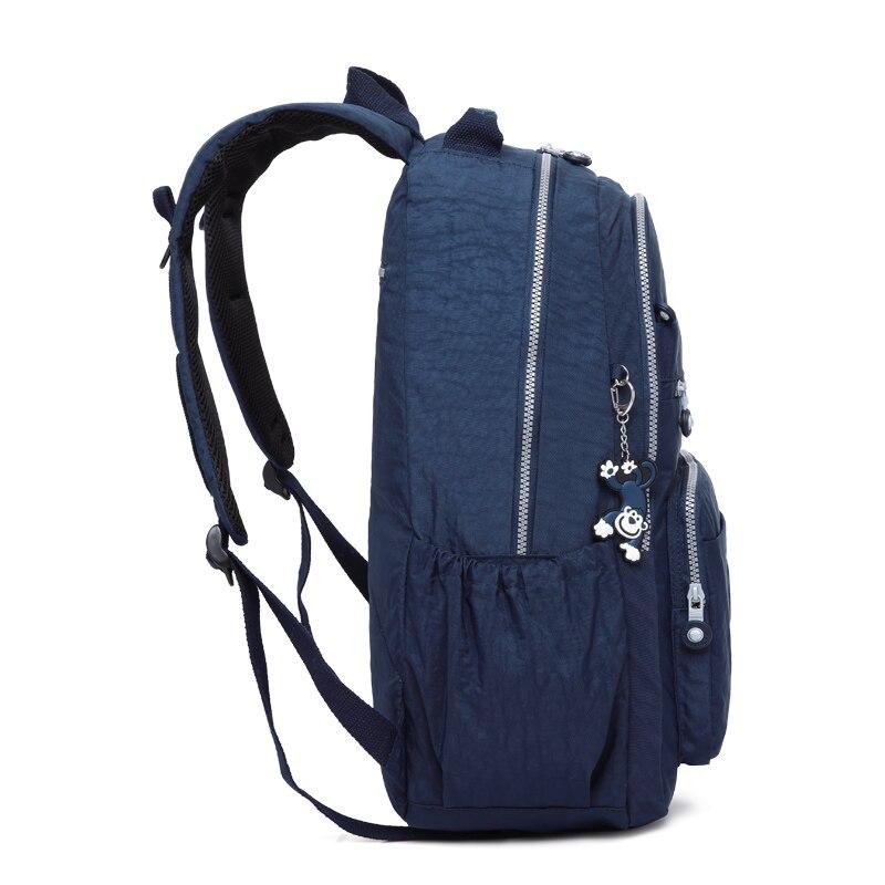 TEGAOTE 2019 femmes sac à dos pour adolescentes Kipled Nylon sacs à dos Mochila Feminina femme voyage sac à dos cartable femmes sac - 4