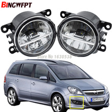 2x Car Exterior Accessories White 6000K LED Fog Lamps Light For Opel Zafira B MPV A05 2005-2011