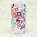 914F Steven Universe Hard Transparent Case Cover for iPhone 7 7 Plus 4 4s 5 5s 5c SE 6 6s Plus