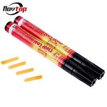 Rovtop stylo de style pour voiture, transparent, anti rayures, applicateur, couche transparente, peinture automobile, 1/2/3 pièces, Z2