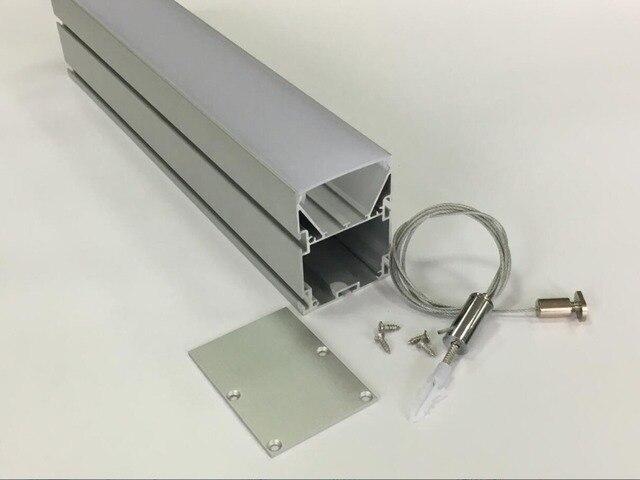 จัดส่งฟรีดีโปรไฟล์อลูมิเนียมอัด PC LED Linear Light สำหรับตกแต่งในร่ม 1.2 เมตร/ชิ้น 30 ชิ้น/ล็อต