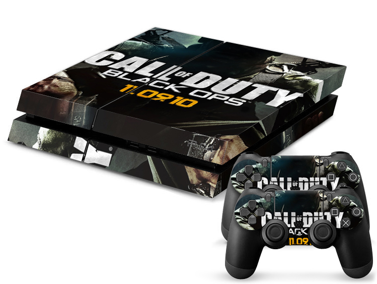 PS4 Sticker Call of Duty Black OPS Game Decal Skin