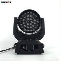 LED Hareketli Kafa Yıkama Işık LED Yakınlaştırma Yıkama 36x18 W RGBWA + UV Renk DMX Sahne Hareketli Kafaları yıkama Dokunmatik Ekran