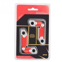 2 pcs Welding Magnet Inside/Outside Magnet Welding Clamp Magnetic Holder Fixer Welder Tool 30/60/90 Degree Welding Holder