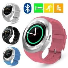 Y1 Smart Watch Bluetooth Smartwatch Reloj Relogios Watch GSM SIM Call App for iPhone Samsung Huawei