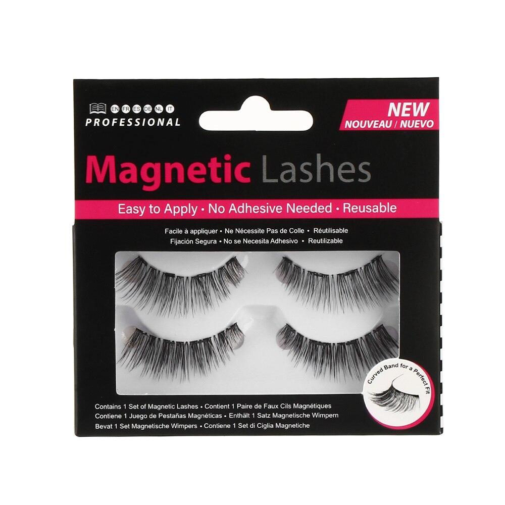 802d7f26fe2 Magnetic Eyelashes with 4 Magnets Handmade Magnetic Lashes Natural False  Eyelash