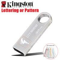 Kingston Usb Flash Drive 32 gb pendrive cle usb Portachiavi Flash Drive Memory Stick FAI DA TE Personalizzati lettering modello pen drive 32 GB
