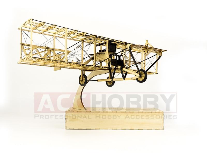 Free Shipping Static Model, Airplane Models, Curtiss Pusher Static Scale Display Replica,Balsa Kit, Balsawood Airplane sport scale plane t 6a texan ii rc airplane gas 8 ch 30cc 78 7 balsa wood model