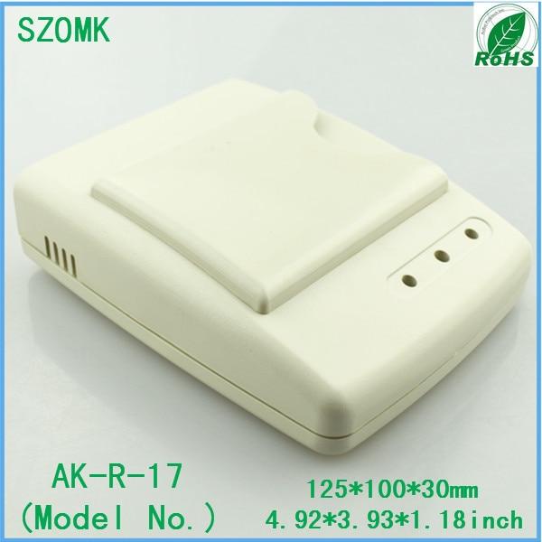 1 pcs, IC card door access alarm wireless sensor reader 125*100*30mm instrument plastic enclosure, hot selling plastic boxes