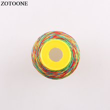 ZOTOONE 500D Embroidery Polyester Thread Machine For Beads Craft Quilting Supplies Handmade Sewing Floss D