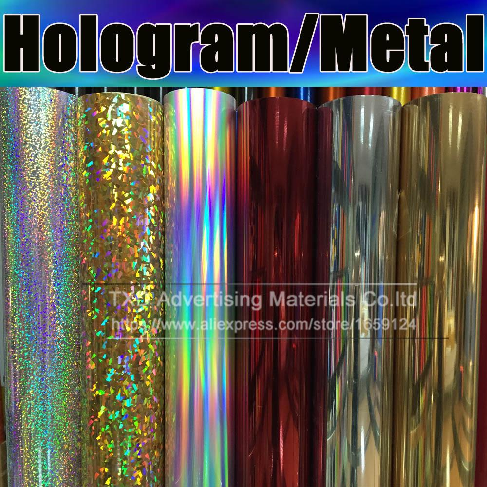 High Quality Metallic Heat Transfer Film For Shirts Heat