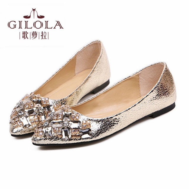 65ee1dc9ca5d3 new fashion female women flat shoes crystal women s flats shoes woman  rhinestone spring summer women s black  Y0729726G