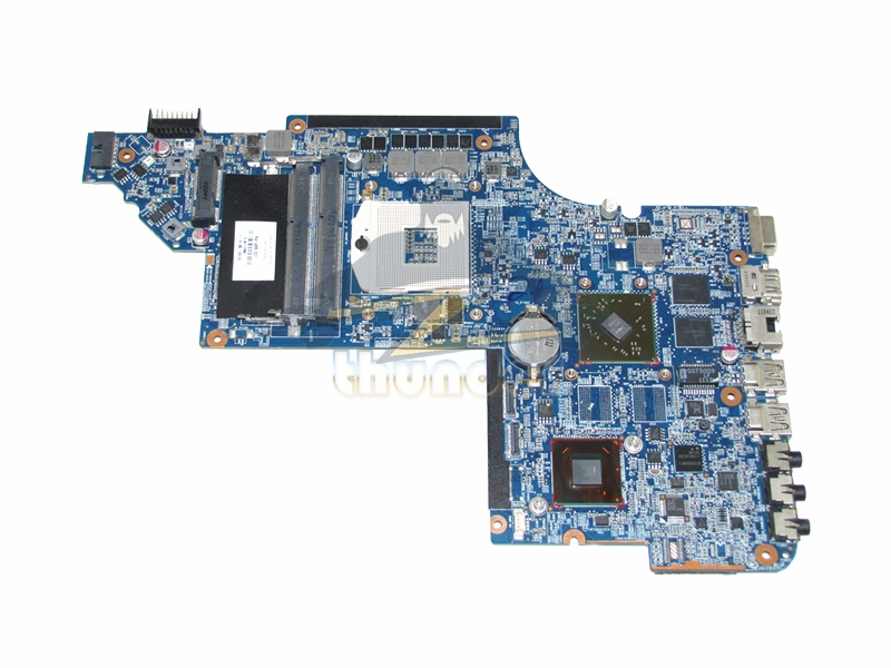 641486-001 for hp pavilion DV6 DV6-6000 laptop motherboard HM65 HD6470M DDR3 wholesale for hp dv6 6000 659150 001 hm65 non integrated motherboard 100% work perfect