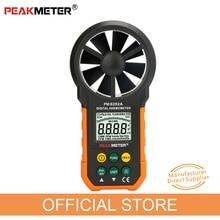 Цифровой анемометр, измеритель скорости ветра и объема воздуха PM6252A 30 м/с ЖК-дисплеем