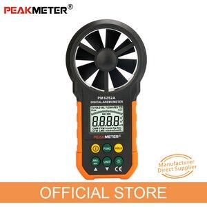 Image 1 - Digital Anemometro Velocità Del Vento Volume Air Metro di Misura PM6252A 30m/s Display LCD
