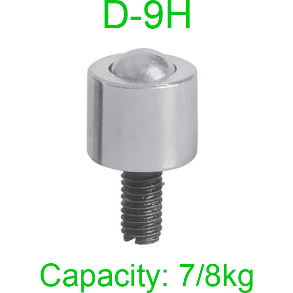 2pcs  D-5H  Load 25KG Ball Bearings Steel  Ball  Metal Transfer Bearing