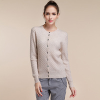 Women S Long Sleeve Knitted Cashmere Cardigan Sweater Women Autumn Winter Cable Knit Warm Cardigans Female