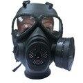 Máscara de gas Chemical Anti-Polvo de la Pintura Del Respirador Máscara Gafas Gameplayer Negro FC