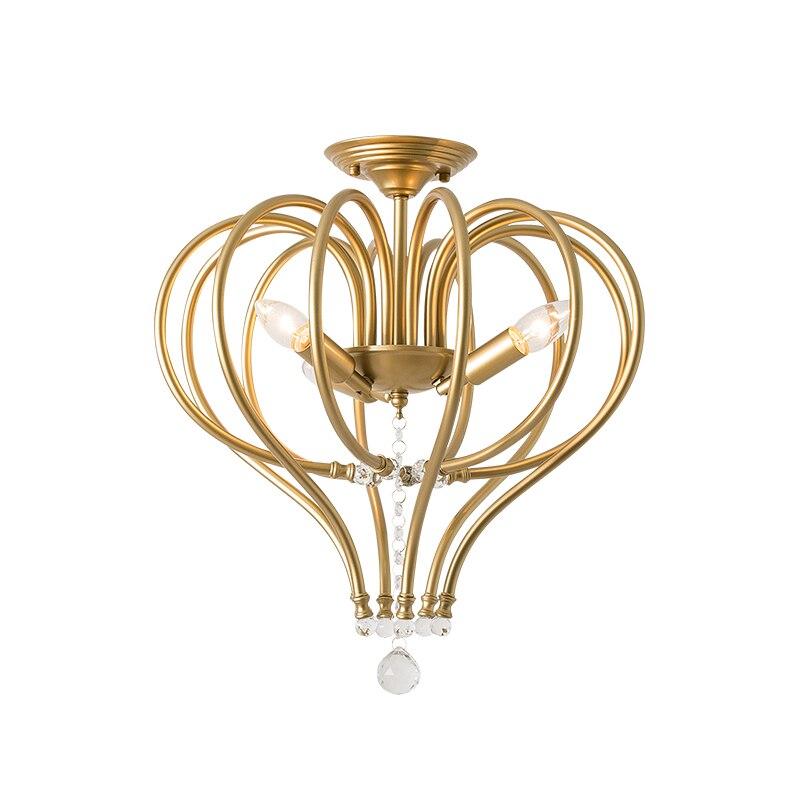 New Nordic Item Fancy Ceiling Light LED Crystal Lamp Modern Lamps for Living Room Lights AC110-240V DIY Lighting