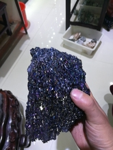 600g natural ore fine of the original standard color colorful stones.