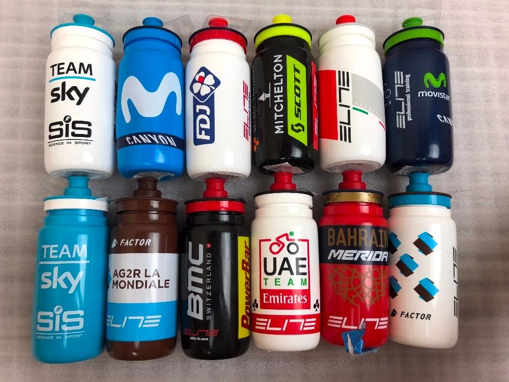 Shimano elite Garrafa de Plástico garrafa De 500 ml Garrafa de Água Da Bicicleta Copo de Acampamento garrafa de Esportes Chaleira corsa Bicicleta Frasqueira