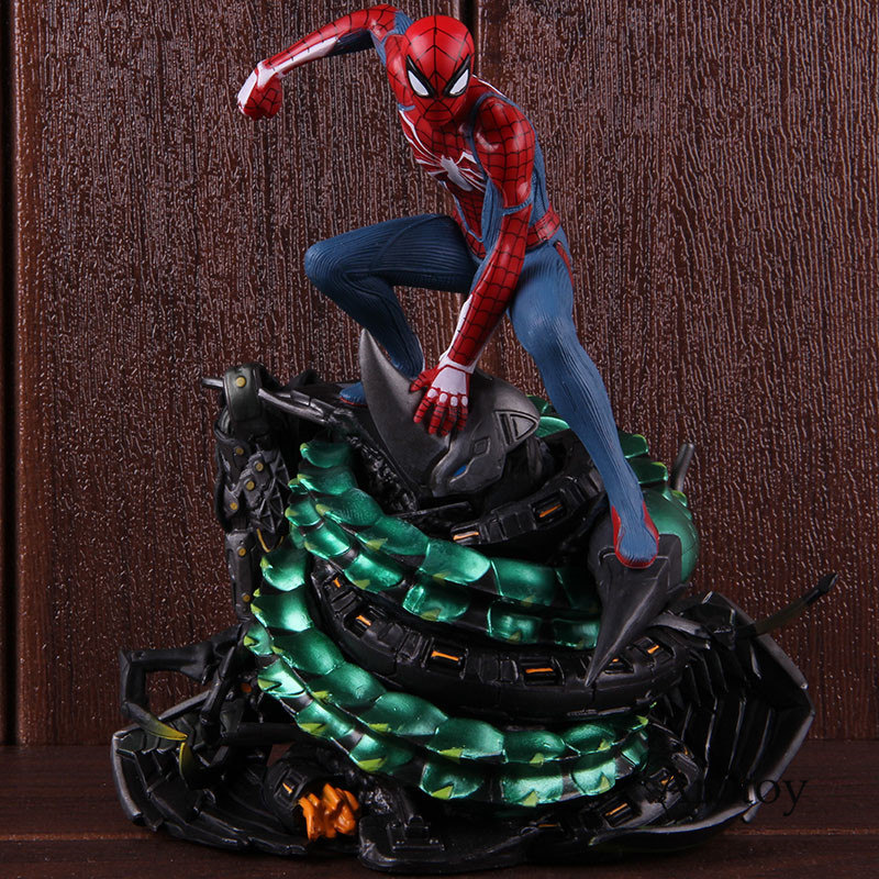 Spiderman PS4 Spider-man Statue Figure Action Spider Man Model Collection Toy on Playstaion статуэтка человека паука