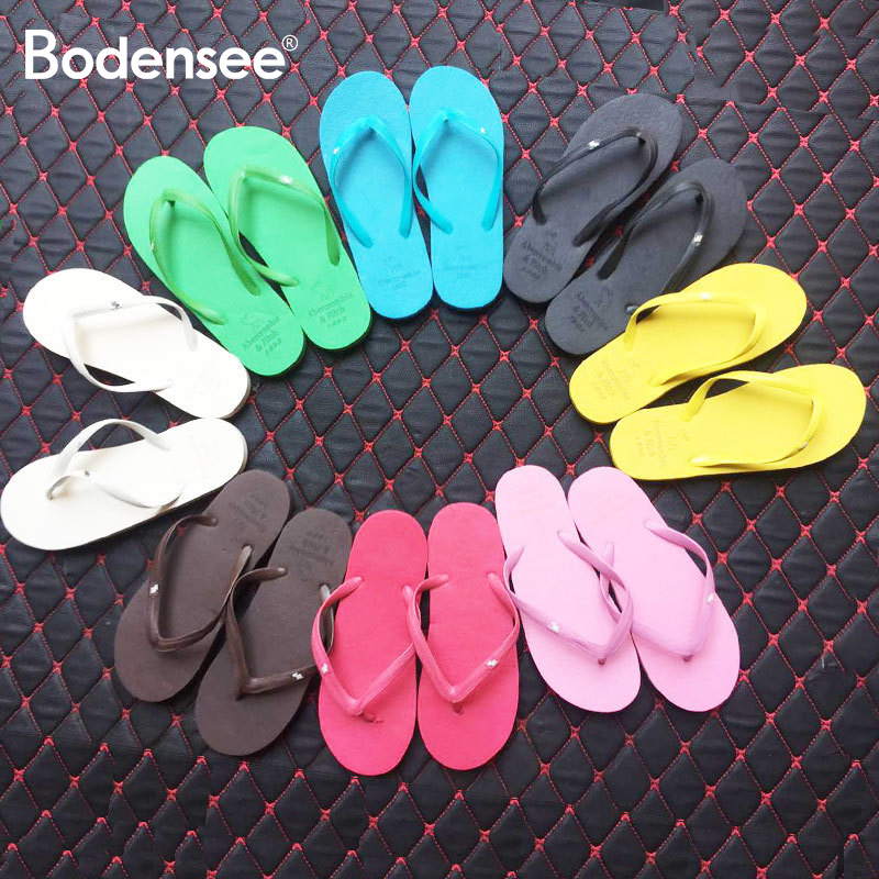 Female Slippers Street Summer Fashion Casual Korean-style Soft-soled Sandals Beach Flip-flops Women's Light Flip-flops