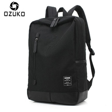 OZUKO 2018 New Style Men's Canvas Backpack Fashion College Student Bag For Teenagers Male Laptop Mochila Casual Travel Rucksacks