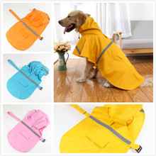 Thickening Large Big Dog Raincoat Pet Apparel Clothes Jacket Rain Waterproof Coat Clothing