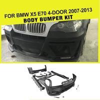 Автомобиль Стайлинг тела FRP Авто Наборы бампер для BMW E70 X5 2008 2013